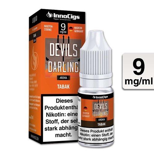 E-Liquid InnoCigs Devils Darling Tabak 9 mg Nikotin