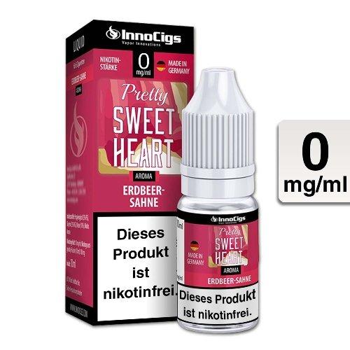 E-Liquid InnoCigs Pretty Sweetheart Sahne-Erdbeer 0mg Nikotin