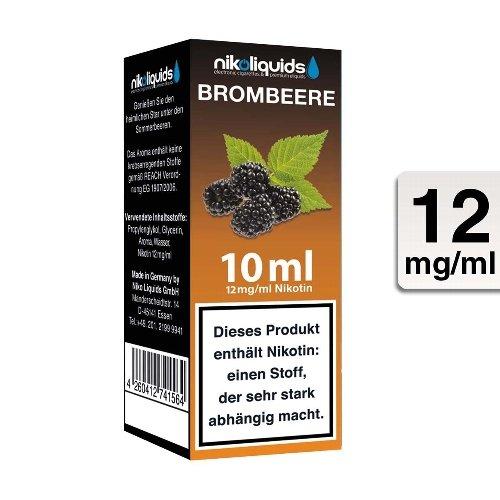 E-Liquid NIKOLIQUIDS Brombeere 12 mg