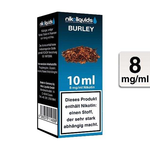E-Liquid NIKOLIQUIDS Burley Tabak 8 mg Nikotin
