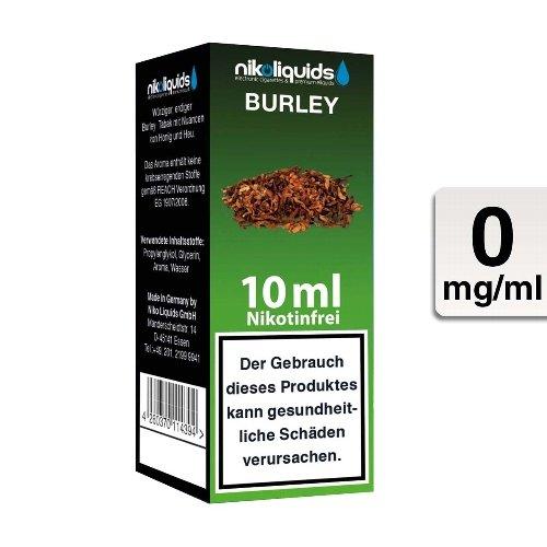 E-Liquid NIKOLIQUIDS Burley Tabak ohne Nikotin