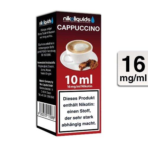 E-Liquid NIKOLIQUIDS Cappuccino 16 mg Nikotin