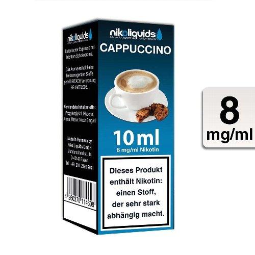 E-Liquid NIKOLIQUIDS Cappuccino 8 mg Nikotin