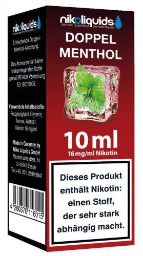 E-Liquid NIKOLIQUIDS Doppel Menthol 16 mg Nikotin