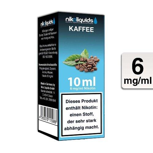 E-Liquid NIKOLIQUIDS Kaffee 6 mg Nikotin