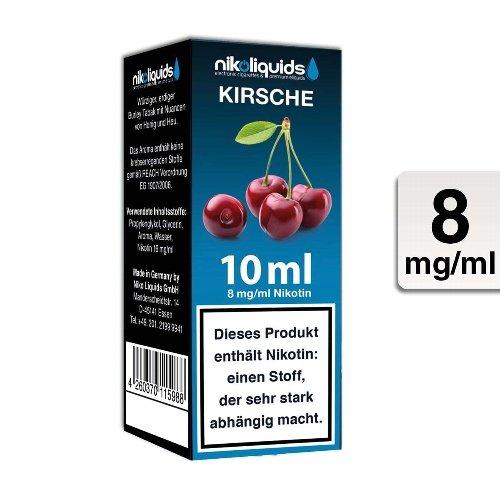 E-Liquid NIKOLIQUIDS Kirsche 8 mg Nikotin