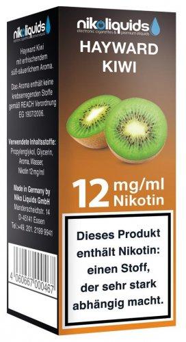 E-Liquid NIKOLIQUIDS Kiwi 12 mg Nikotin