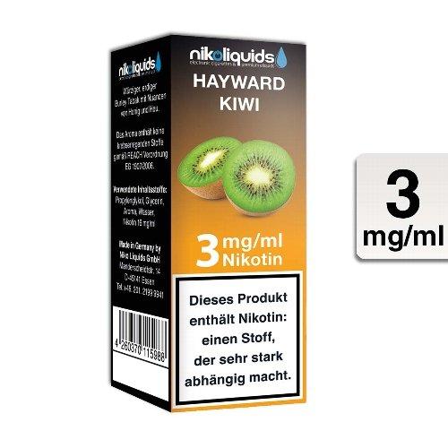 E-Liquid NIKOLIQUIDS Kiwi 3 mg Nikotin