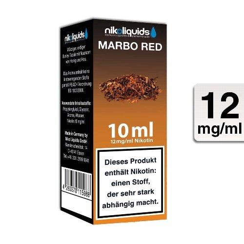 E-Liquid NIKOLIQUIDS Marbo Red 12 mg Nikotin