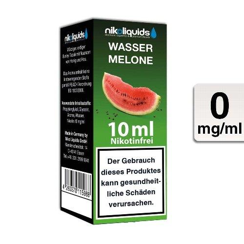 E-Liquid NIKOLIQUIDS Wassermelone 0mg ohne Nikotin 50 VG / 50 PG