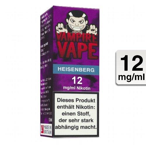 E-Liquid VAMPIRE VAPE Heisenberg 12 mg Nikotin