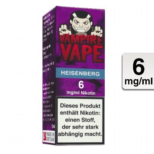 E-Liquid VAMPIRE VAPE Heisenberg 6 mg Nikotin