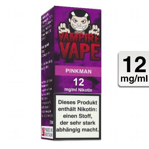 E-Liquid VAMPIRE VAPE Pinkman 12 mg Nikotin
