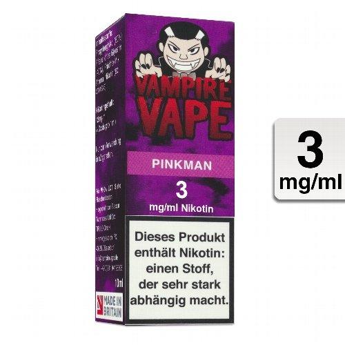 E-Liquid VAMPIRE VAPE Pinkman 3 mg Nikotin