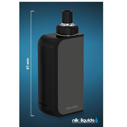E-Zigarette Nikoliquids Joyetech AIO-BOX-SET Schwarz-Grau