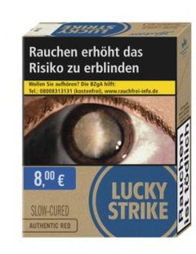 Einzelpackung Lucky Strike Authentic Blue XXL (1x25)