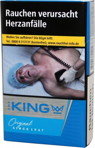 Einzelpackung The King Original Blue (1x20)