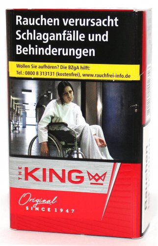 Einzelpackung The King Original Red (1x20)