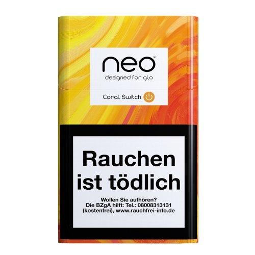 Einzelpackung neo Coral SwitchTobacco Sticks für Glo