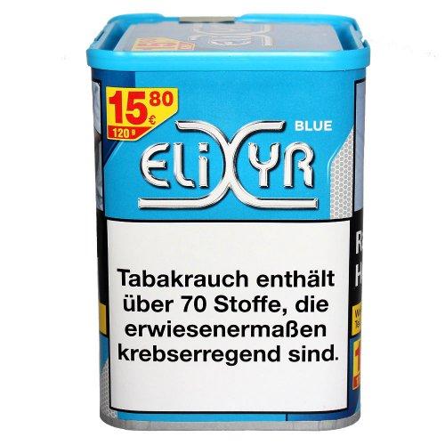 Elixyr Tabak Blau 115g Dose Zigarettentabak