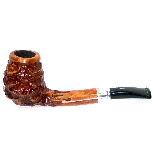 Erik Nordings Valhalla 304 Spigot Pfeife Braun Rustic