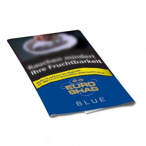 Euro Shag Zigarettentabak Blue Halfzware 30g Päckchen Feinschnitt