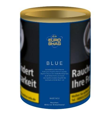 Euro Shag Zigarettentabak Blue (ehem. Halfzware) 110g Dose Feinschnitt