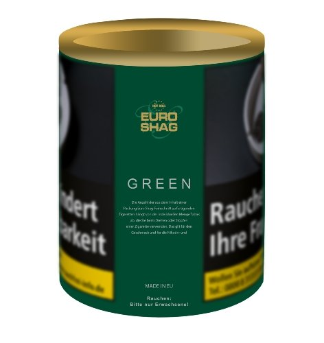 Euro Shag Zigarettentabak Green (ehem. Classic) 115g Dose Feinschnitt