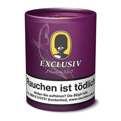 Exclusiv Mixture No 7 (Plum und Rum) 200g Dose Pfeifentabak