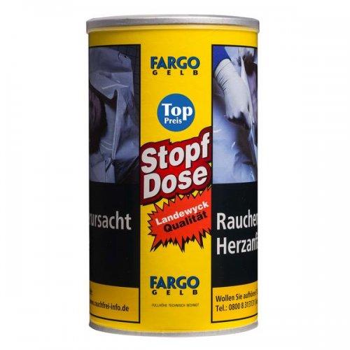 Fargo Tabak Gelb 100g Spar-Dose Volumentabak