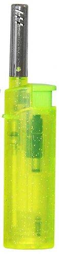 Zorro Mini Feuerzeug BBQ transparent Grün