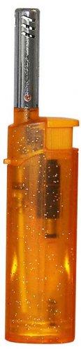 Zorro Mini Feuerzeug BBQ transparent Orange