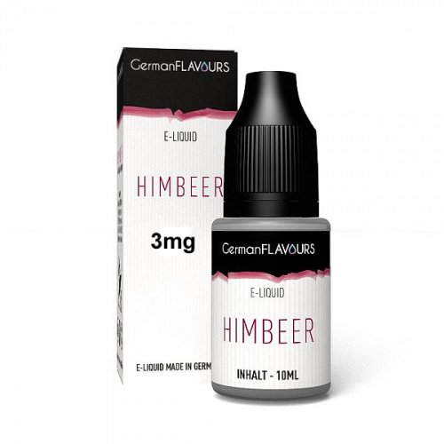 GF Himbeer e-Liquid 3 mg Nikotin