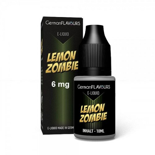 GF Lemon Zombie e-Liquid 6 mg Nikotin