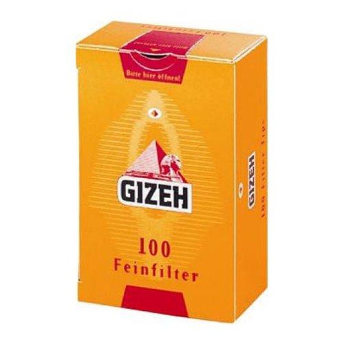 Gizeh Filter 8mm Zigarettenfilter 100 Stück