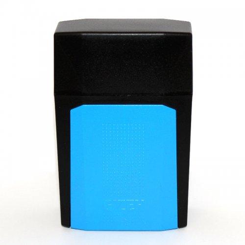Gizeh Flip Case Zigarettenbox Schwarz Blau