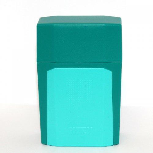 Gizeh Flip Case Zigarettenbox Türkis