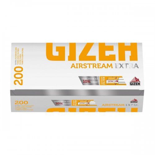Gizeh Zigarettenhülsen Airstream Extra 200 Stück