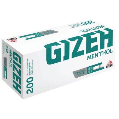Gizeh Zigarettenhülsen Menthol Groß 200 Stück