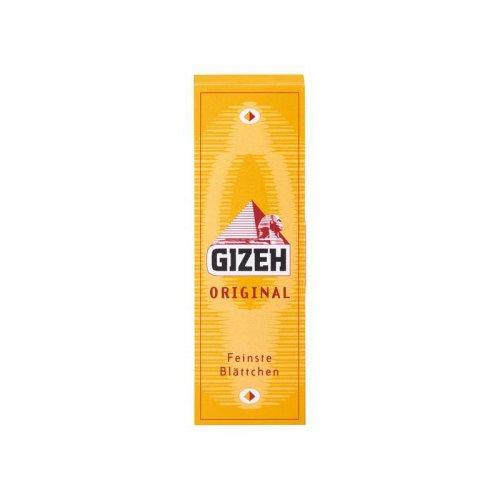 Gizeh Zigarettenpapier Gelb Original 1x50 Blatt Einzelpackung