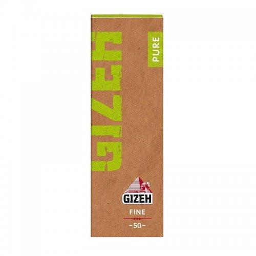 Gizeh Zigarettenpapier Pure Fine Regular Size 1x50 Blatt