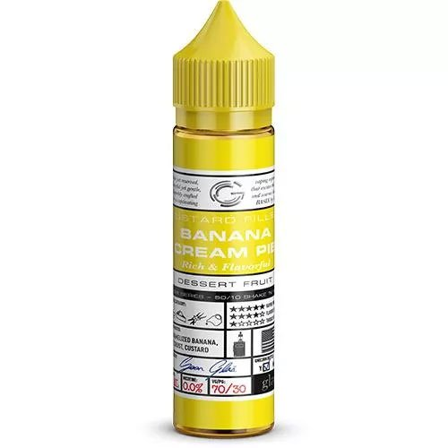 Glas Vapor Banana Cream Pie Liquid - 50ml