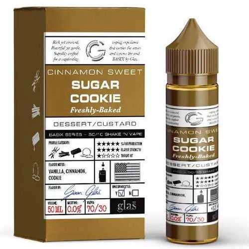 Glas Vapor Sugar Cookie Liquid - 50ml