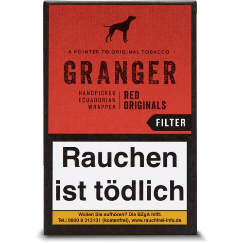 Granger Originals Zigarillos Red mit Filter