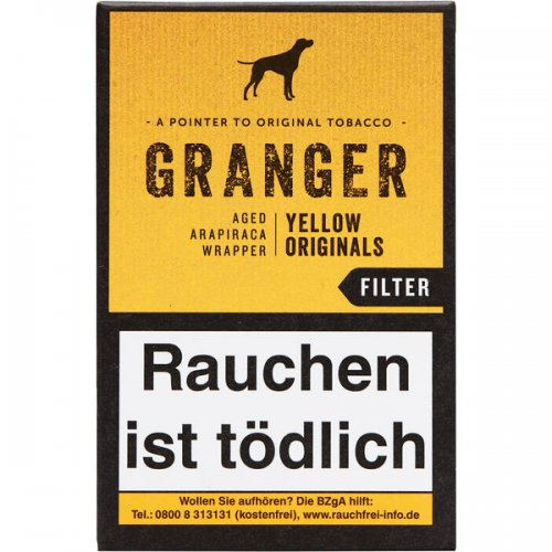 Granger Originals Zigarillos Yellow mit Filter