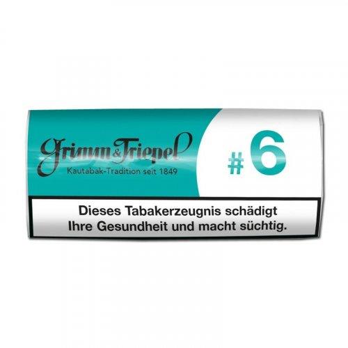 Grimm & Triepel #6 Kautabaksticks 14g Packung