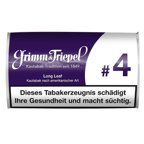 Grimm & Triepel #4 Kautabak-Sticks 14g Packung