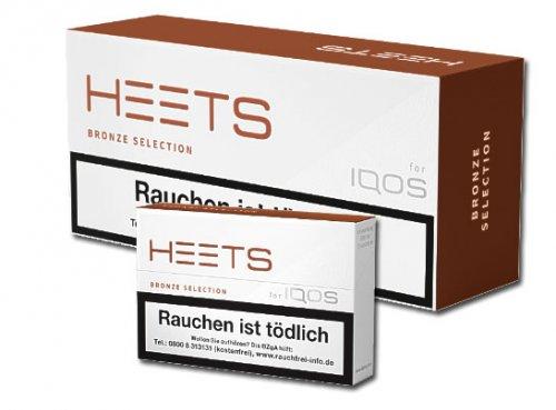HEETS Bronze Selection Tobacco Sticks für IQOS 1 x 20 Stück