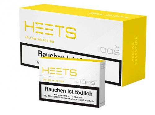 HEETS Yellow Selection Tobacco Sticks für IQOS 1 x 20 Stück