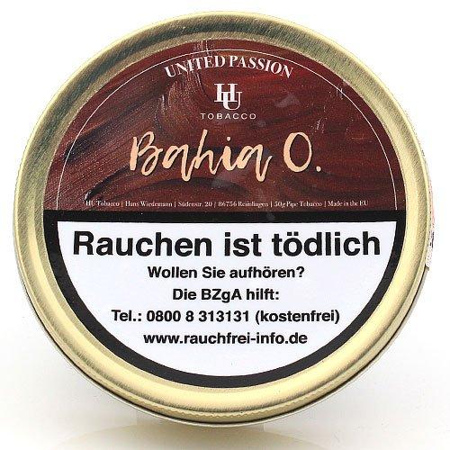HU Tobacco Bahia O. Pfeifentabak 50g Dose